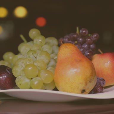 Szent Orbán Erdei Wellness Hotel - Étterem, gyümölcstál